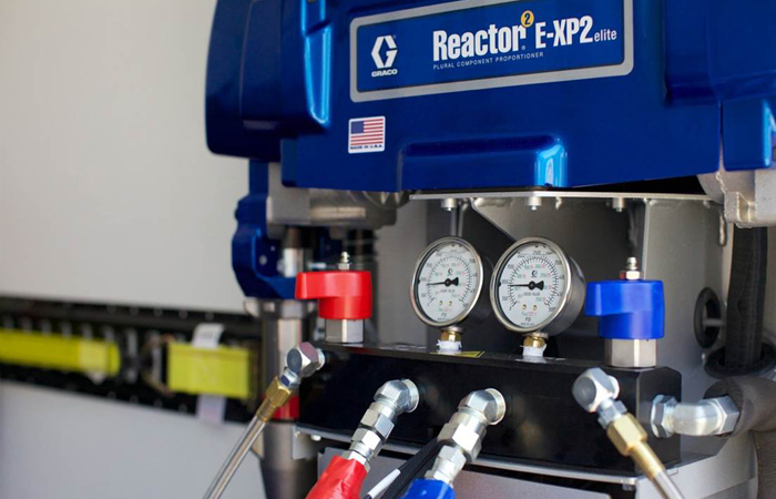 Reactor 2 E-XP2 machine