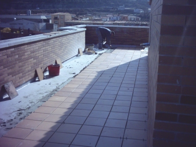 Under-Tile Balcony / Terrace Waterproofing