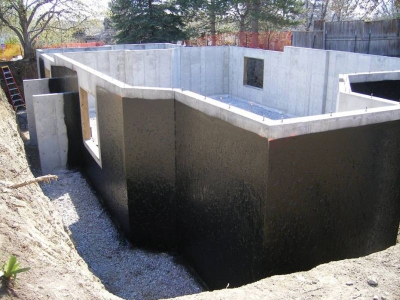 Foundations / Retaining Walls Waterproofing