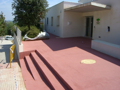 Color-Sand Decorative Waterproofing