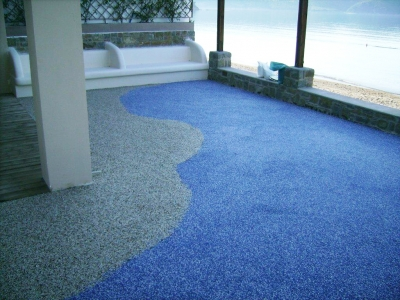 Sand-Carpet Finish Decorative Waterproofing