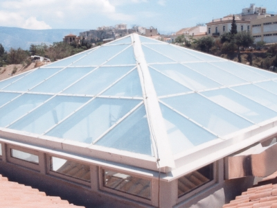 Transparent Glass / Plastic Surfaces Waterproofing