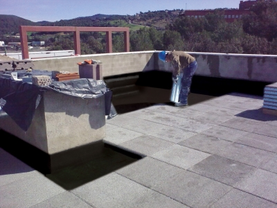Inverted Flat Roof Waterproofing