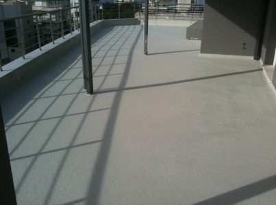 Colored Balcony & Terrace Waterproofing