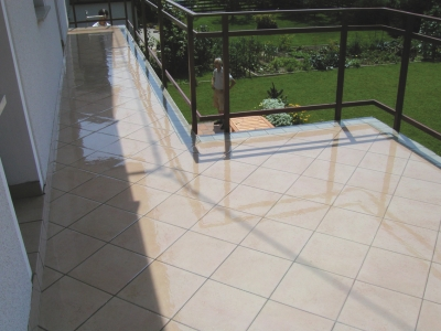 Transparent Balcony / Terrace Waterproofing